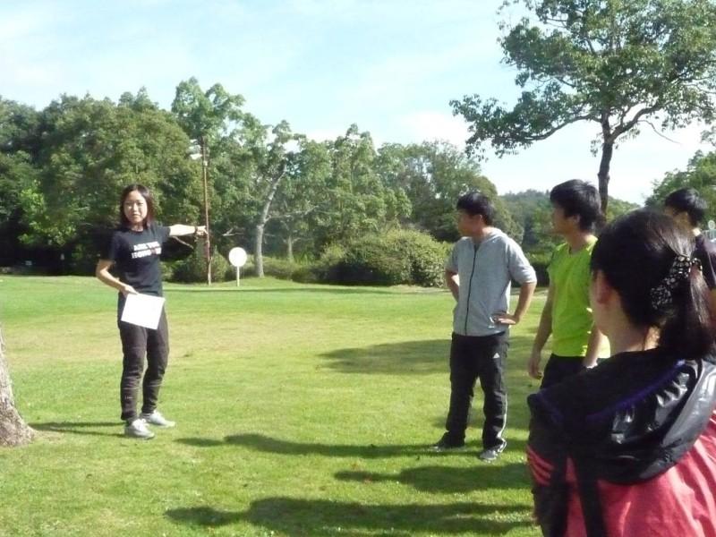 元日本代表関谷さんから競技説明