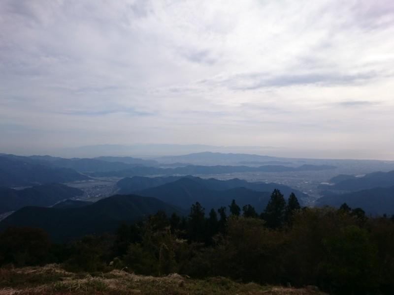 高山・市民の森からの展望