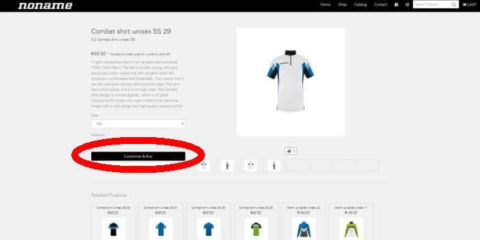 Custom&Buyを選択